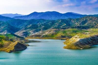 Chipre Kalavassos Lago