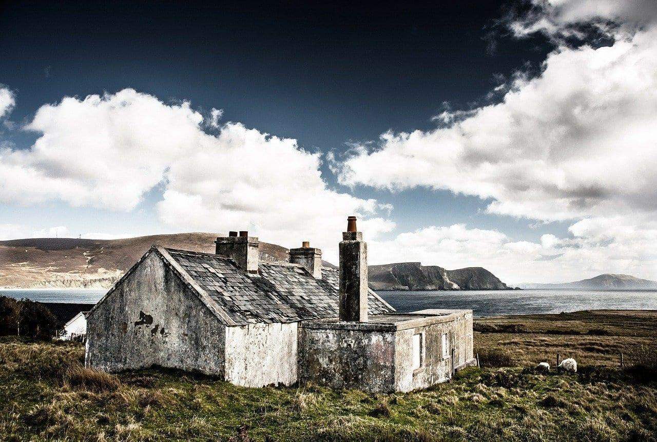 Choza Ruina Irlanda