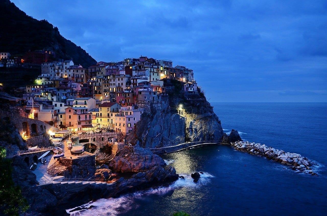 Cinque Terre Italia Rocas