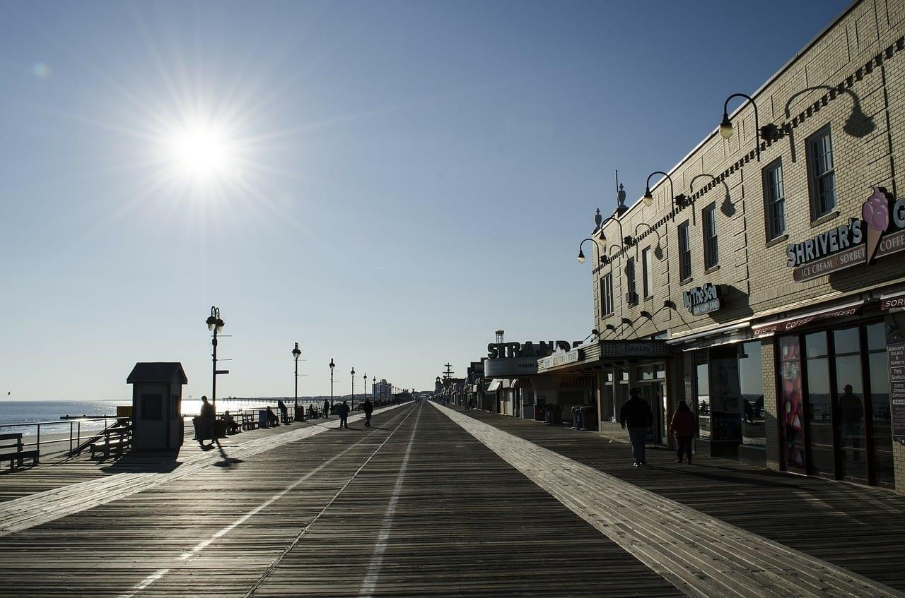 Ciudad De Océano Nueva Jersey Playa