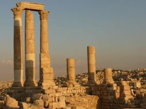 Colina De La Ciudadela Amman Jordania
