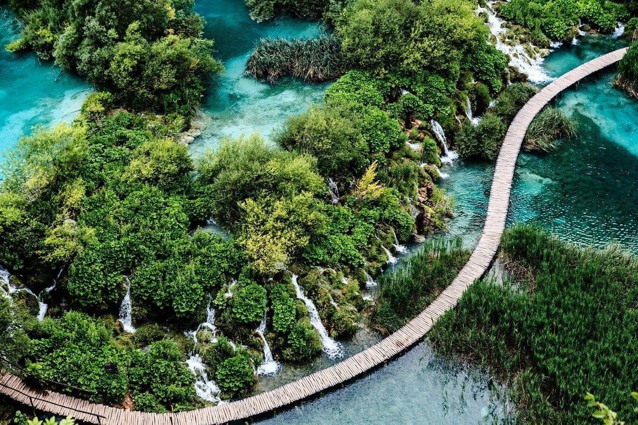 Croacia Plitvice Cascada