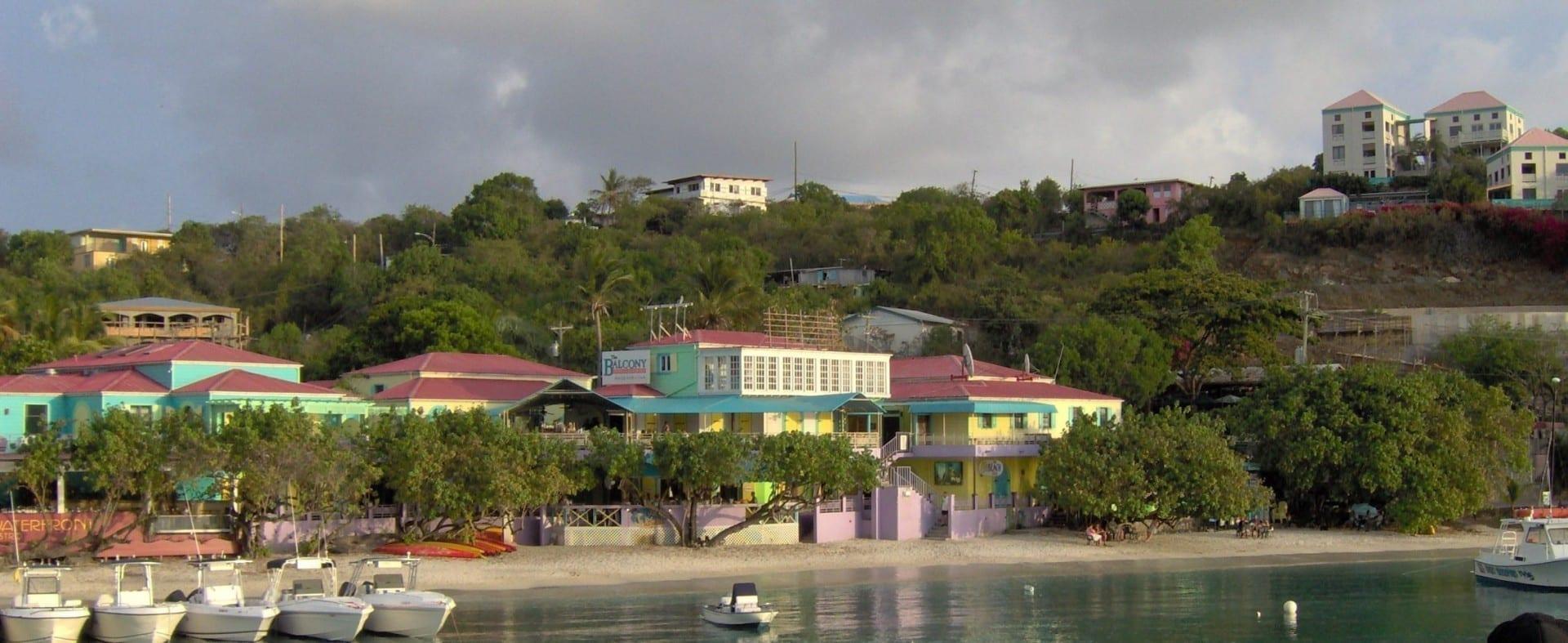 Cruz Bay, St. John, Islas Vírgenes de los Estados Unidos. Islas Vírgenes de los Estados Unidos