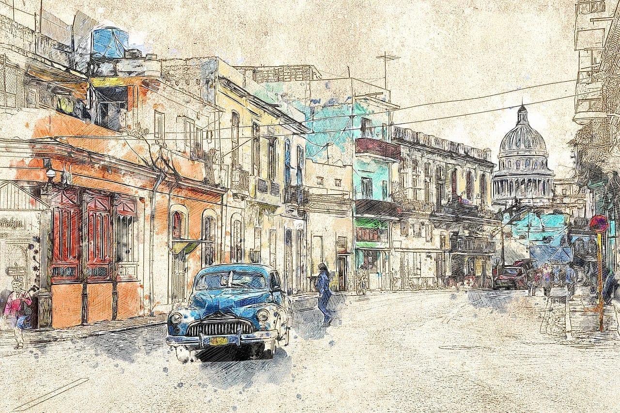 Cuba Coche Antiguo La Habana
