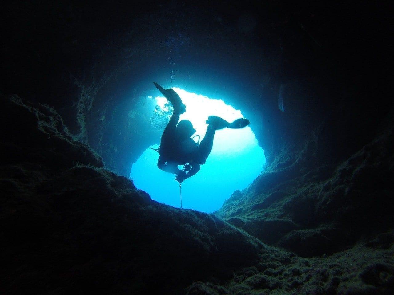 Cueva Buceo Palau