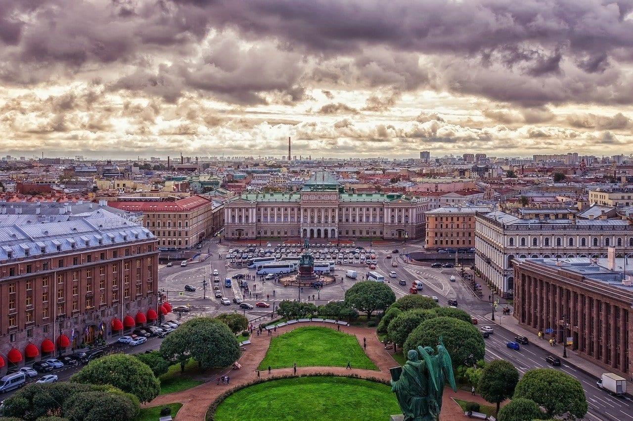De La Ciudad San Petersburgo Rusia