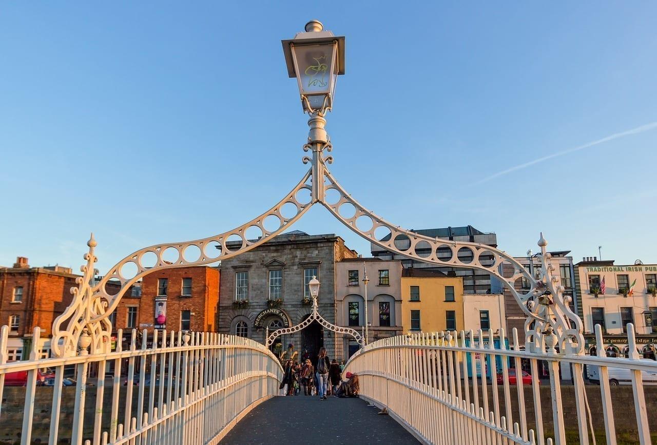 Dublín Puente Irlanda