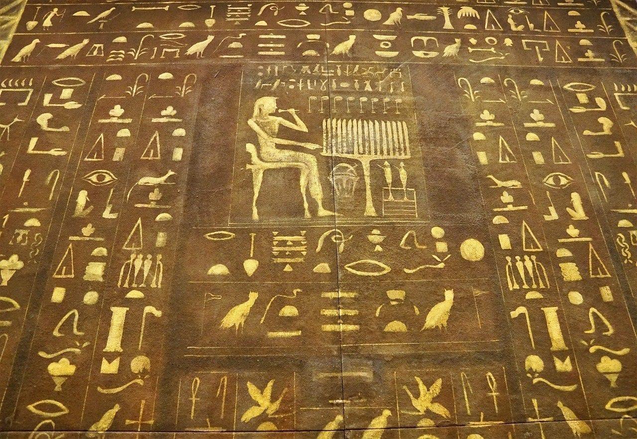 Egipto Fuente Personajes