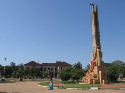 El antiguo Palacio Presidencial Guinea-Bisáu