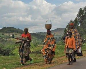 El camino a Bujumbura Burundi