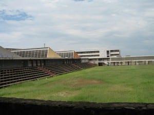 El estadio de la Universidad de Bujumbura Burundi