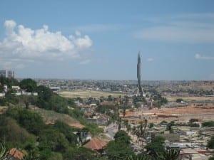 El mausoleo de Augustinho Neto Angola