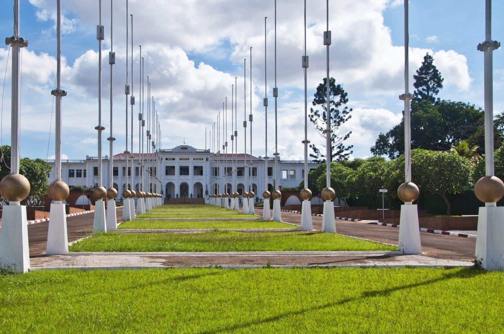 El museo nacional Camerún