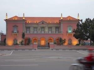 El Palacio del Gobernador Angola