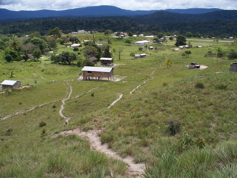 El pueblo de Paramakatoi Guyana