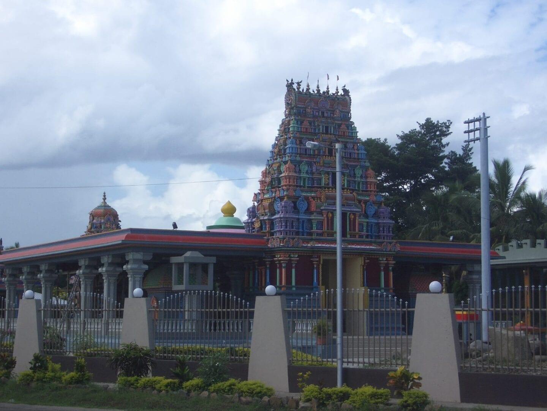 El templo Sri Siva Subramaniya Fiyi