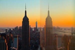 Empire State Building Reflexión Nueva York