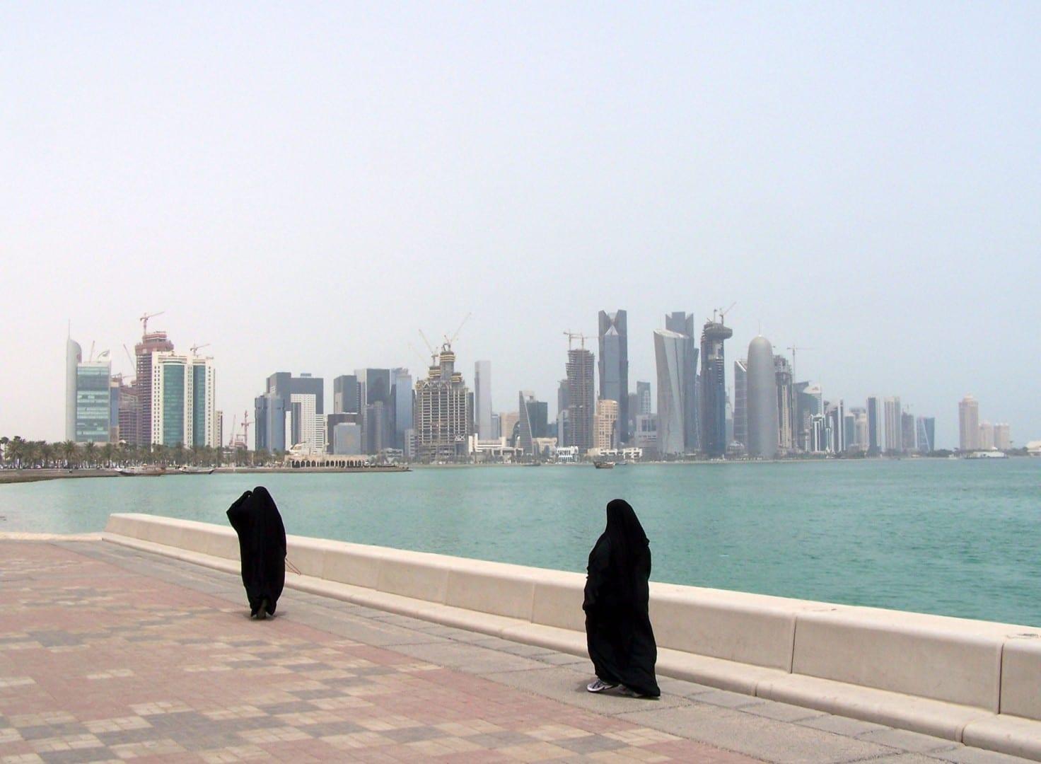 En la Corniche Catar