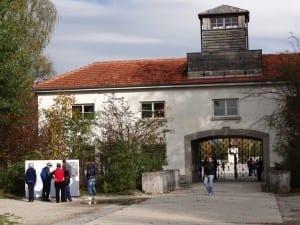 Entrada principal del campo de concentración Alemania