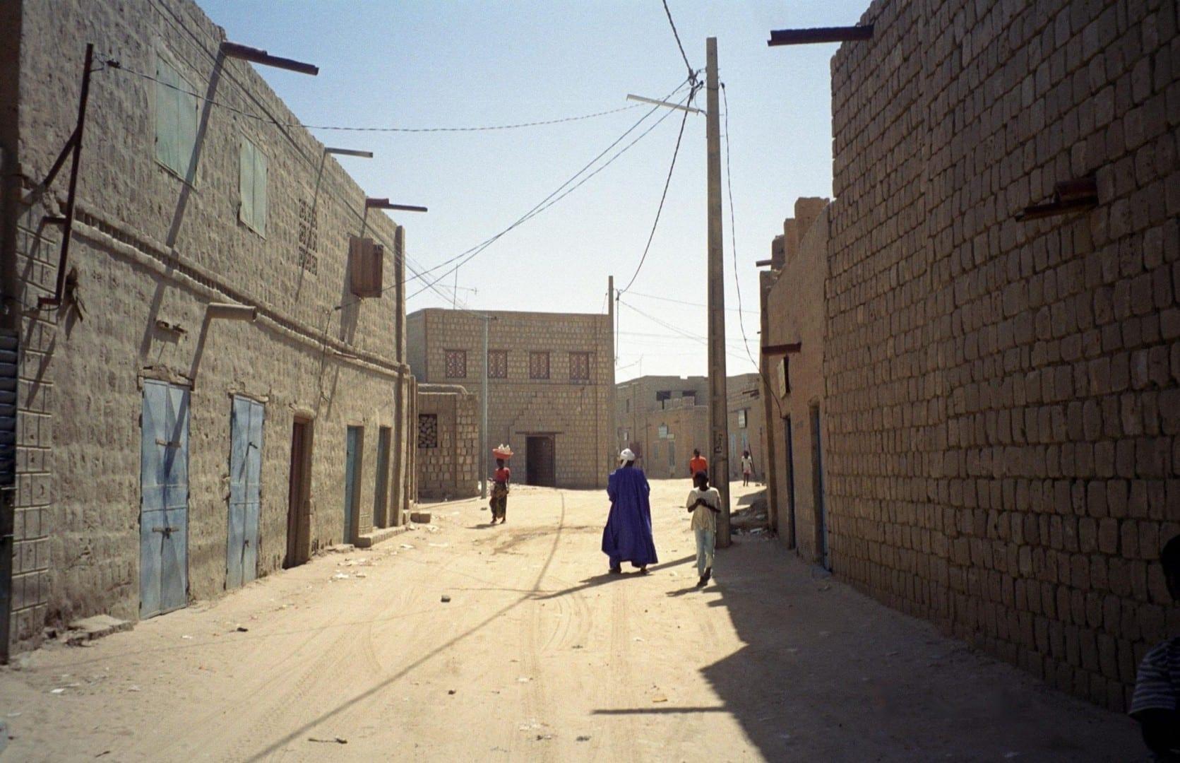 Escena callejera en Tombuctú Mali