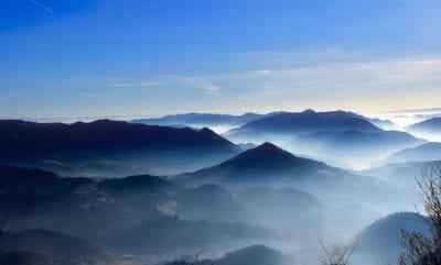 Eslovenia Montañas Cielo