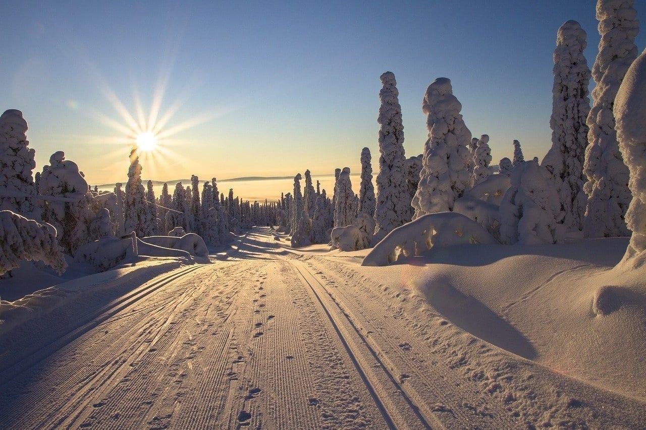 Finlandia Laponia Invernal