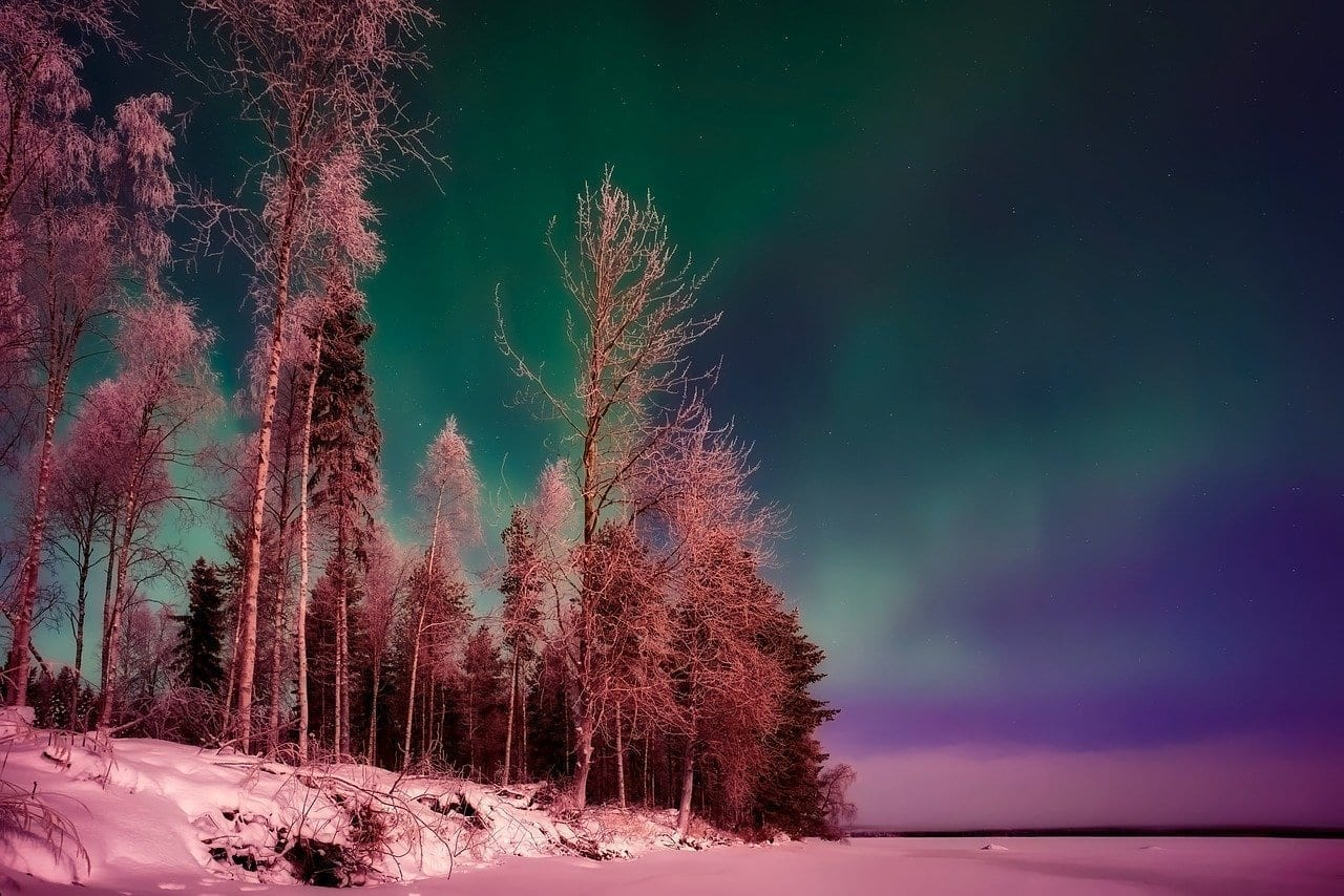 Finlandia Northern Lights Aurora Borealis