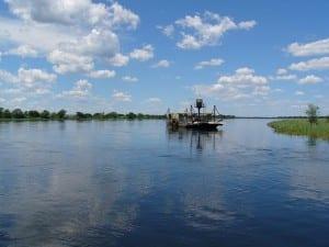 áfrica Río Botswana