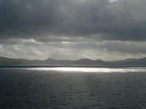 Gibraltar Estrecho Montañas