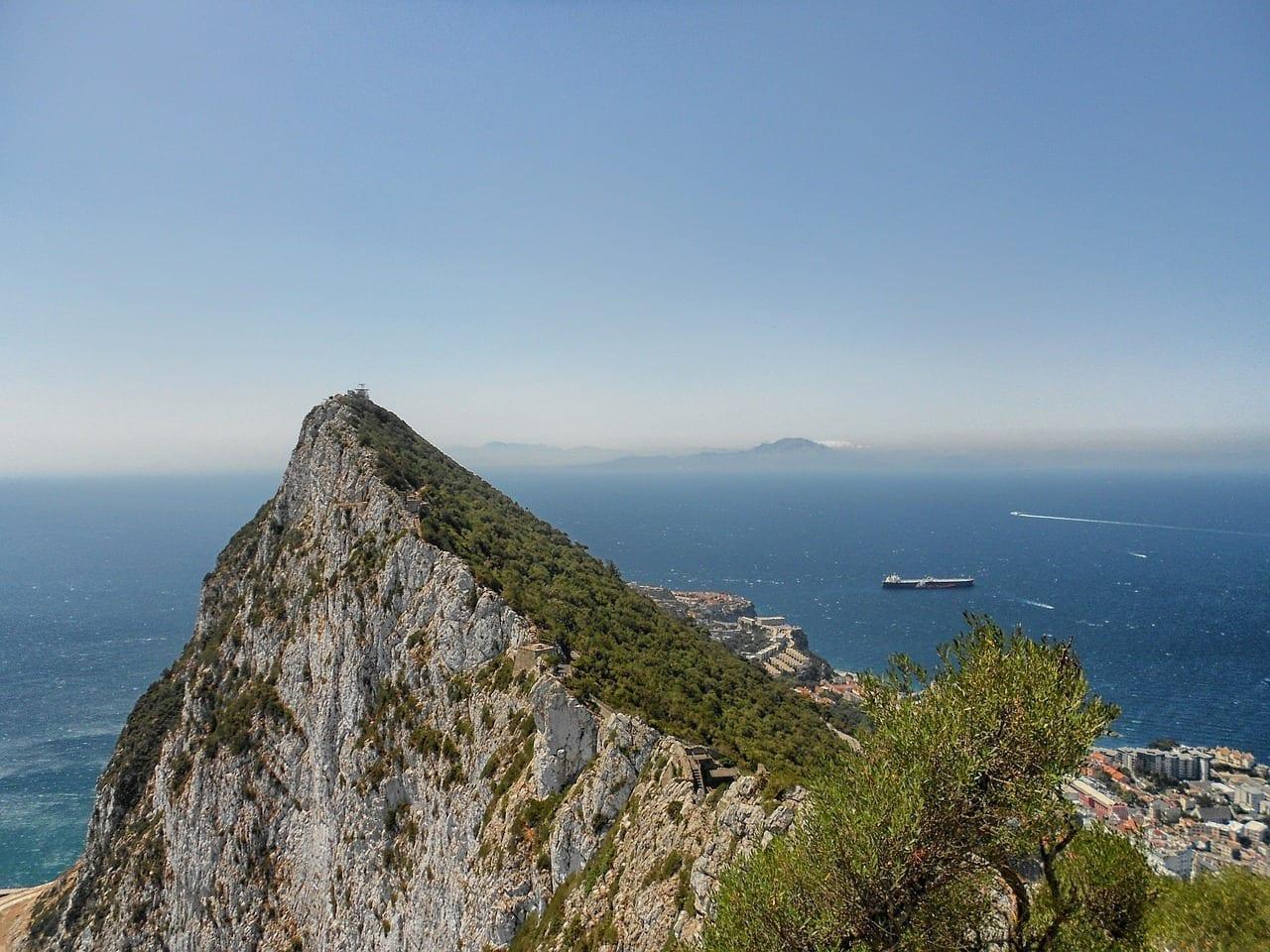Gibraltar Montaña Paisaje