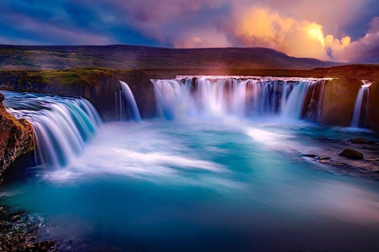 Godafoss Islandia Cascada
