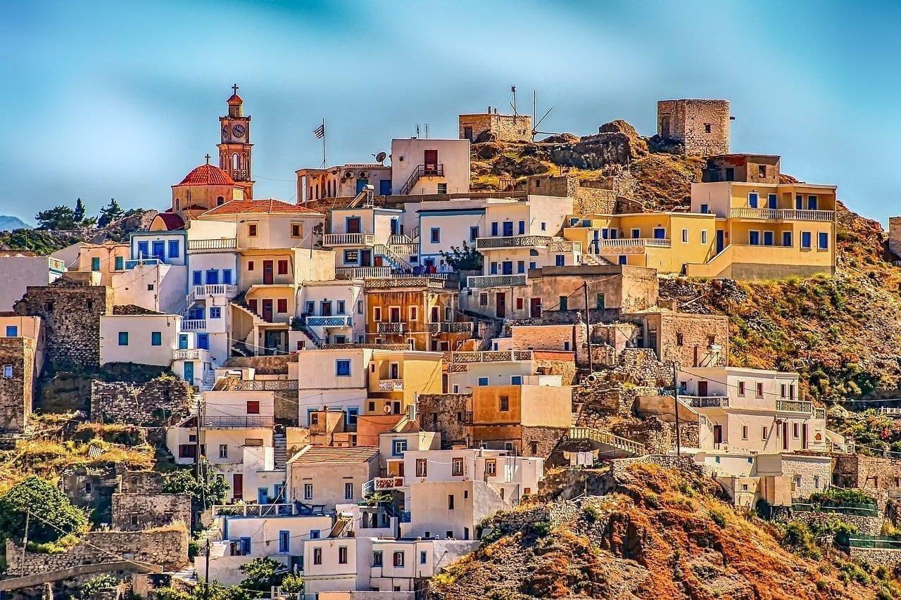 Grecia Pueblo Karpathos