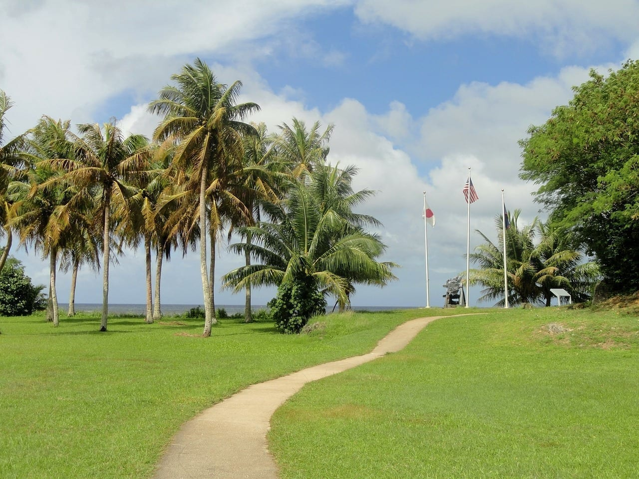 Guam Cielo Nubes