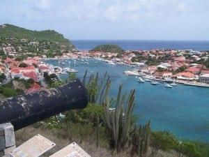 Gustavia Harbour St. Barthelemy San Bartolomé