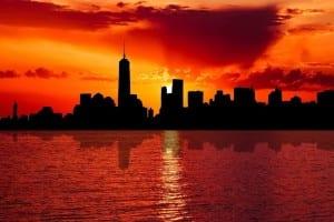 Horizonte Nueva York Ciudad