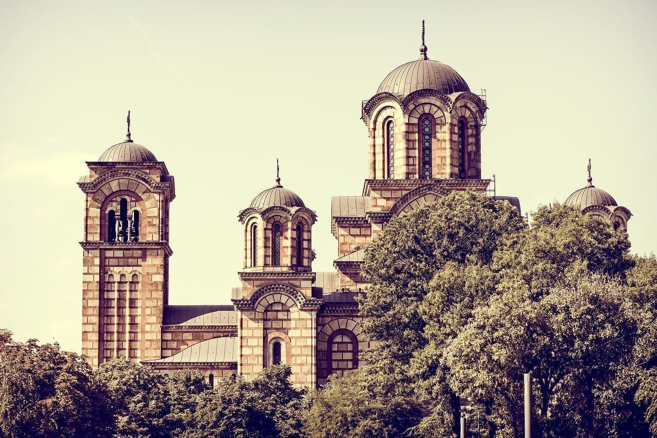 Iglesia Belgrado Serbia