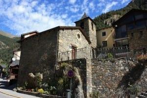 Iglesia de Sant Andreu d'Arinsal Andorra