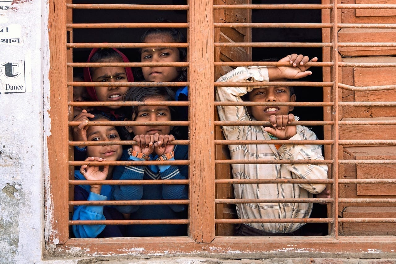 India Niños Equipo
