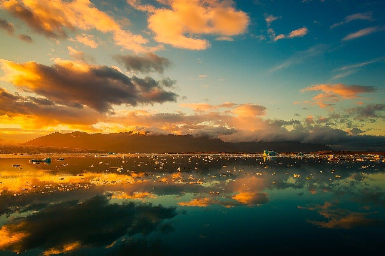 Islandia Cielo Nubes
