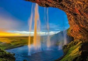 Islandia Skogafoss Cascada
