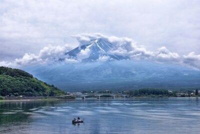 Japón Montaña Volcán