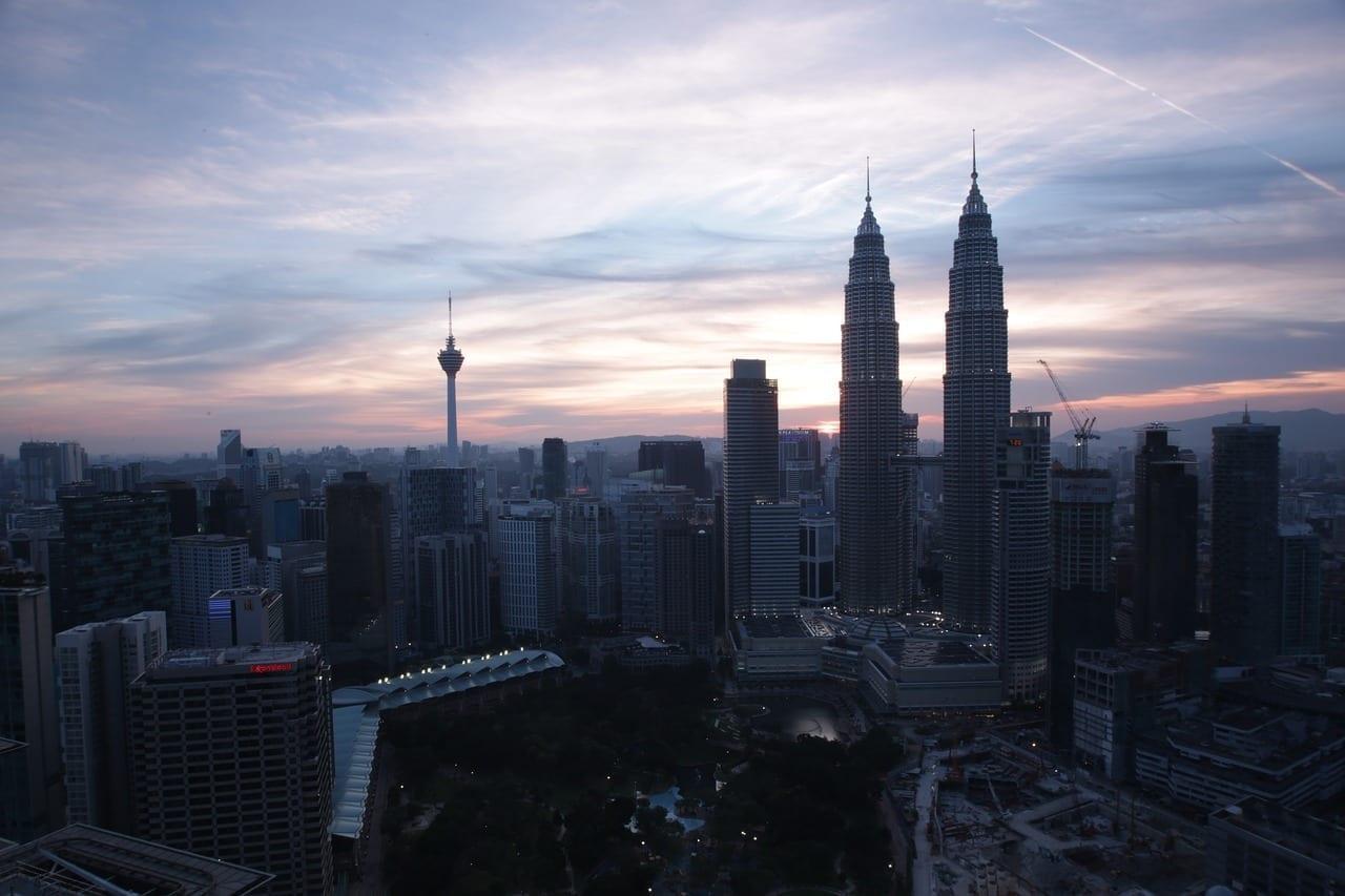Kuala Lumpur Malasia Twin Tower