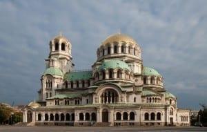 La catedral de Aleksandar Nevski Sofía Bulgaria