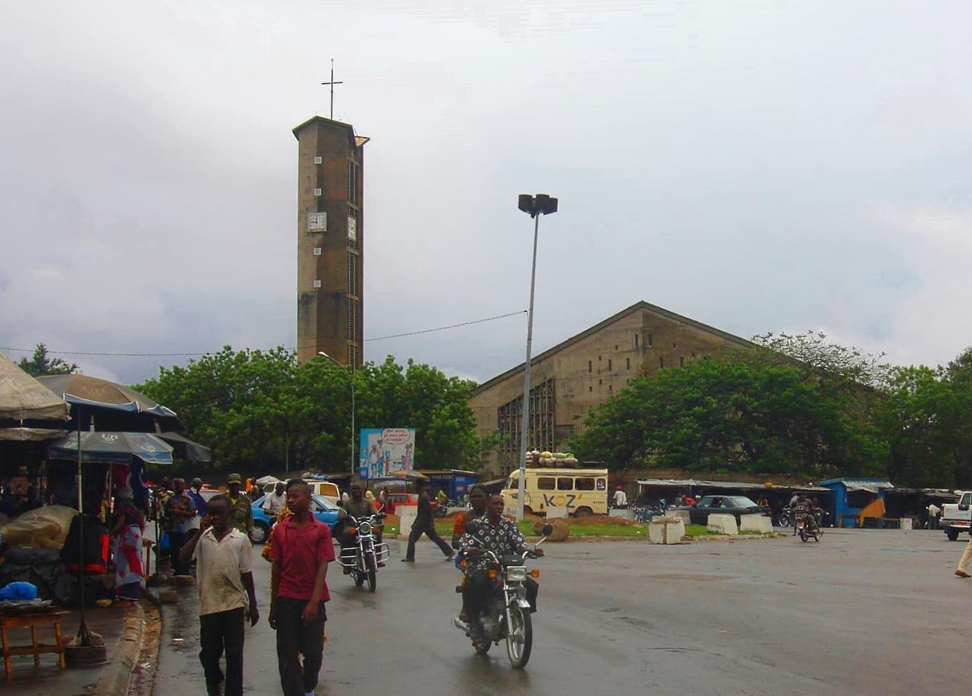 La catedral de Bouaké. Costa de Marfil