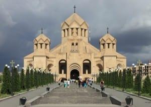 La catedral de San Gregorio el Iluminador Armenia