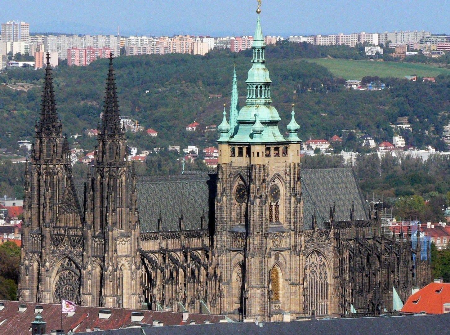 La Catedral de San Vito República Checa