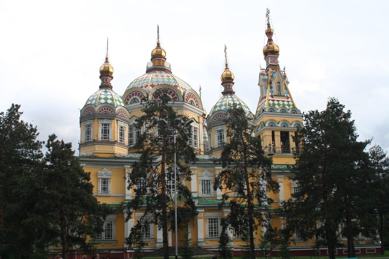 La Catedral de Zenkov Kazajistán