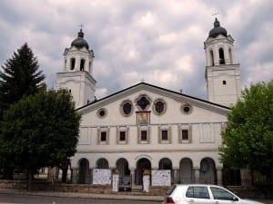 La iglesia de San Jorge en Panagyurishte. Bulgaria