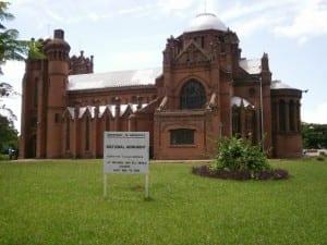 La iglesia de San Miguel y todos los ángeles. Malawi