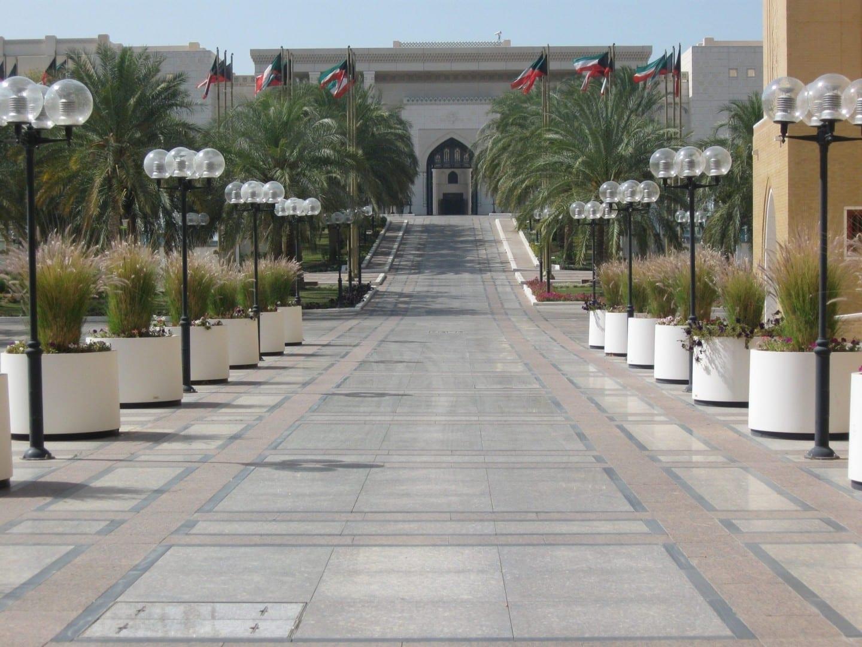 La mejor vista que puedes tener del Palacio de Seif Kuwait